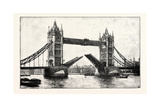 The Tower Bridge Giclee Print