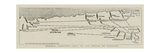 Admiral Stanton's Plan of the Battle of Santiago Giclee Print