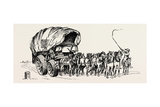 Stage Wagon, 1808, UK, 1893 Giclee Print