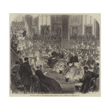 The Royal Party at the Norwich Musical Festival, in St Andrew's Hall Giclee Print
