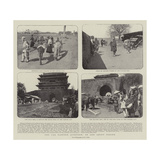 The Far Eastern Question, in and About Peking Giclee Print
