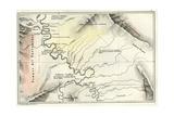 Map 1869 Peru Giclee Print