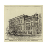 The Royal United Service Institution as Seen from Whitehall Giclee Print