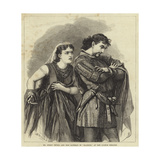 Mr Henry Irving and Miss Bateman in Macbeth at the Lyceum Theatre Giclee Print