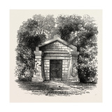 President Lincoln's Grave, USA, 1870s Giclee Print