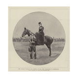 The German Emperor and Empress at the Army Manoeuvres in Westphalia Giclee Print