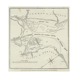 Plan of the Wash, Between the Coasts of Norfolk and Lincolnshire Giclee Print