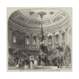 Exhibition of the Royal Horticultural Society, at the Rotunda, Dublin Giclee Print