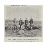 Lord Cromer Visiting the Field of Omdurman Giclee Print