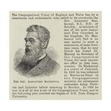 The Reverend Alexander Mackennal Giclee Print
