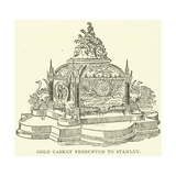 Gold Casket Presented to Stanley Giclee Print