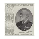 Admiral Sir H Fairfax Giclee Print