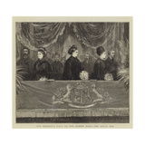 Her Majesty's Visit to the Albert Hall, the Royal Box Giclee Print