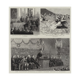 Lord Hartington Addressing a Liberal Unionist Meeting at Inverness Giclee Print