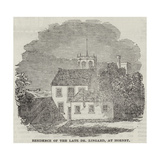 Residence of the Late Dr Lingard, at Hornby Giclee Print