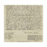 The Last Sheet of Shakespeare's Will Giclee Print