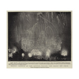 Brock's Benefit at the Crystal Palace, the Grand Set Piece Giclee Print