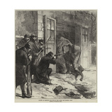 Killing an Elephant for Food in the Jardin Des Plantes, Paris Giclee Print