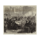 Confirmation of Bishop Temple at Bow Church, Cheapside Giclee Print