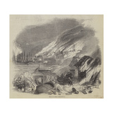 Fire at St John's, Newfoundland Giclee Print