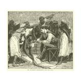 Dr Davidson Prescribing for the Sick Giclee Print