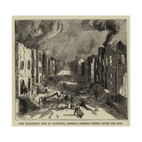The Disastrous Fire at Kingston, Jamaica, Orange Street after the Fire Giclee Print