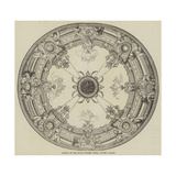 Ceiling of the Royal Italian Opera, Covent Garden Giclee Print
