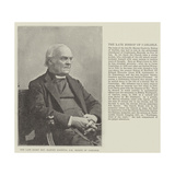 The Late Right Reverend Harvey Goodwin, Dd, Bishop of Carlisle Giclee Print
