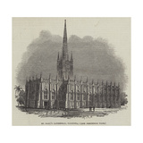 St Paul's Cathedral, Calcutta Giclee Print