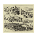 Southern Afghanistan, Athletic Meeting at Hurnai, Murree Hills Giclee Print