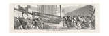 The Britannia Bridge: the Capstan, 1849 Giclee Print