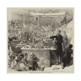 Professor Tyndall Lecturing at the Royal Institution Giclee Print