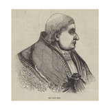 The Late Pope Giclee Print