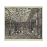 Entrance Hall to the Brighton Aquarium Giclee Print