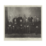 The Church Congress at Nottingham, a Representative Group Giclee Print