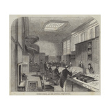Secret-Office, at the General Post-Office Giclee Print