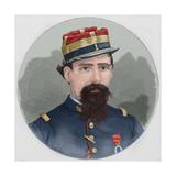 Lorenzo Latorre (1844-1916). Portrait. Coloured. Uruguay Giclee Print