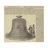 The Westminster Clock Bell Giclee Print