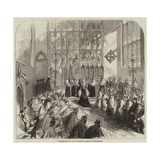 Consecration of the Suffragan Bishop of Nottingham Giclee Print