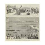 At the Camp of Exercise, Delhi, India Giclee Print
