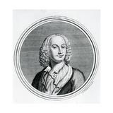 Portrait of Antonio Vivaldi Giclee Print