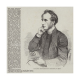 Dr Ellicott, Bishop Designate of Gloucester and Bristol Giclee Print