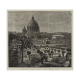 The Pope's Private Garden in the Vatican, Rome Giclee Print