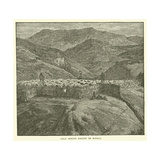 Gold Mining Region of Sofala Giclee Print