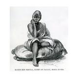 Rahim Bin Bibula, Chief of Jajani, Moma River, 1879 Giclee Print