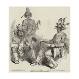 Chippewa Indian Chiefs at Montreal Giclee Print