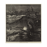Illumination of the Surf at Madras Giclee Print