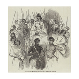 Ranavalona, Queen of Madagascar, in Her State Howdah Giclee Print
