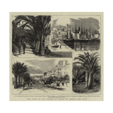 The Visit of the Prince of Wales to Cannes and Nice Giclee Print