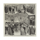 The Naval Volunteers' Ball Held at Glasgow Giclee Print
